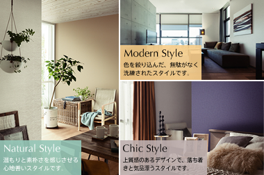 Natural Style  Modern Style  Chic Style